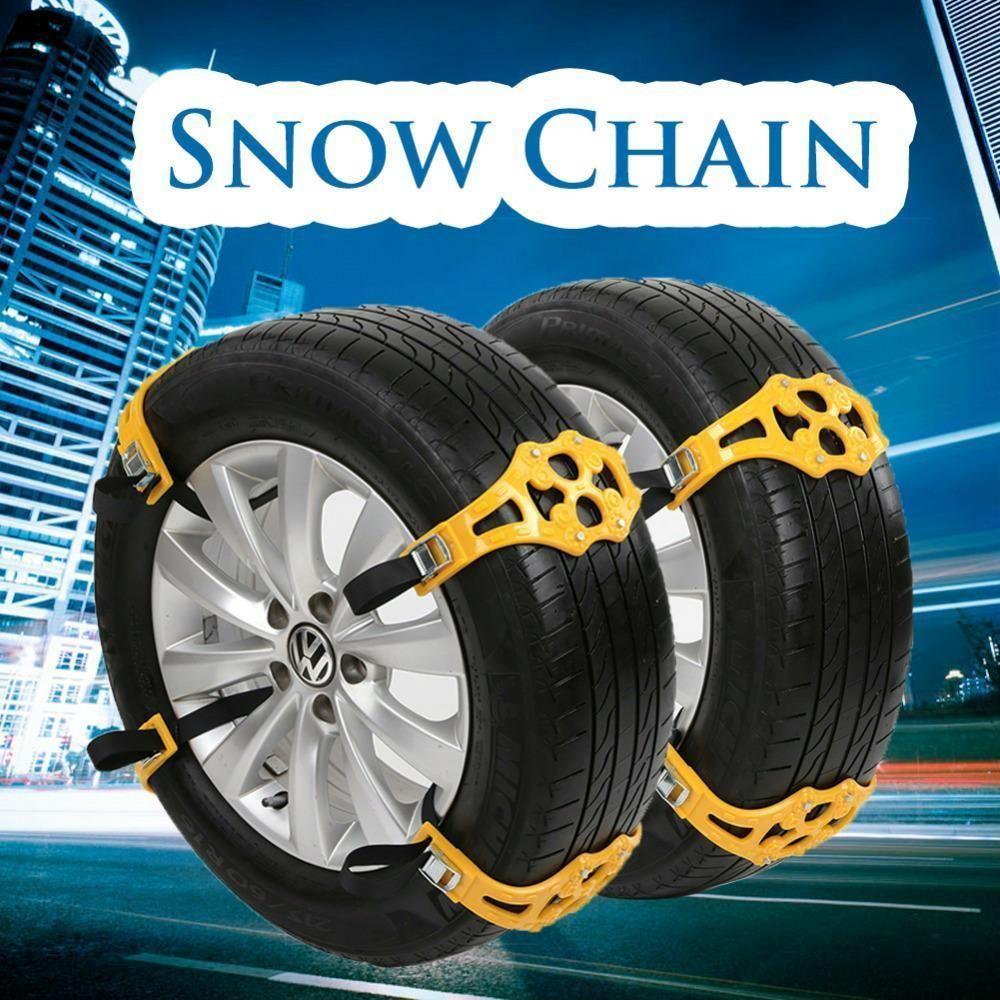 Chain Car Snow Passenger Pair Size Aleko High Quality Tire