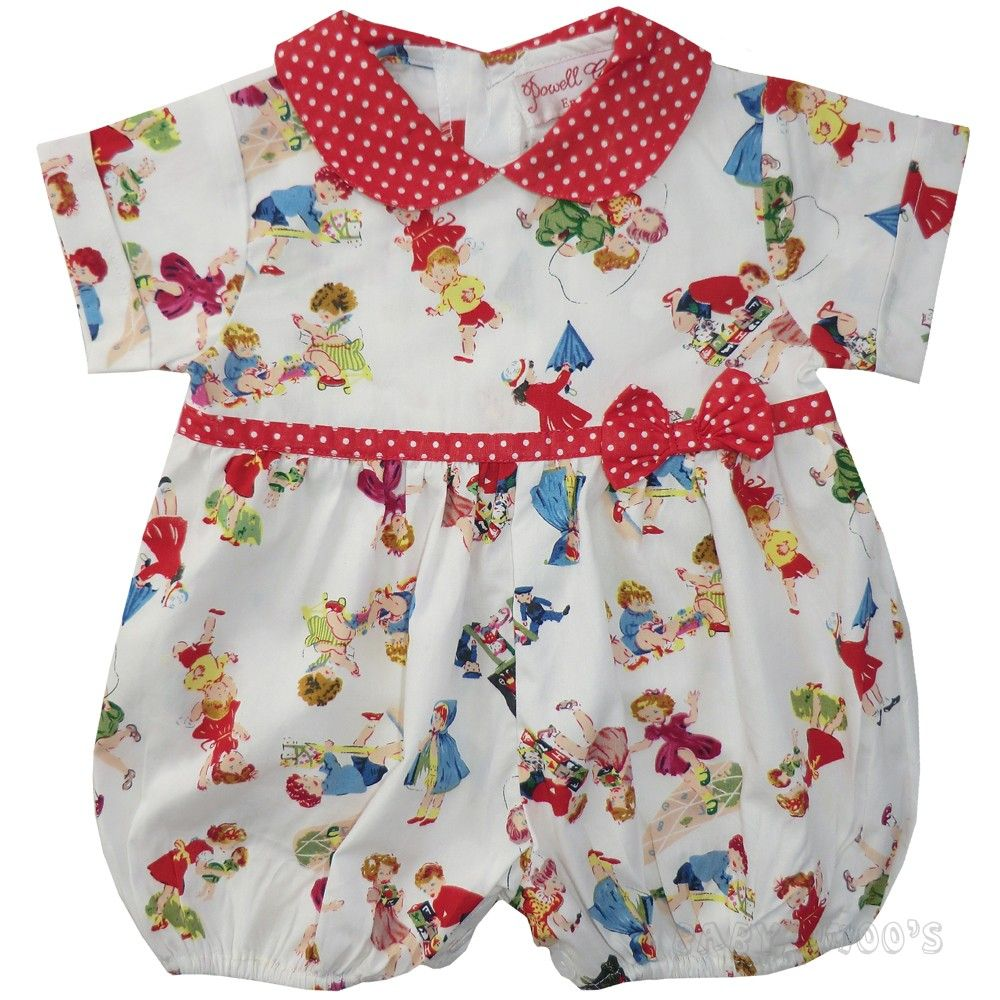 Antique Baby Rompers Vintage Baby Clothes Romper Retro