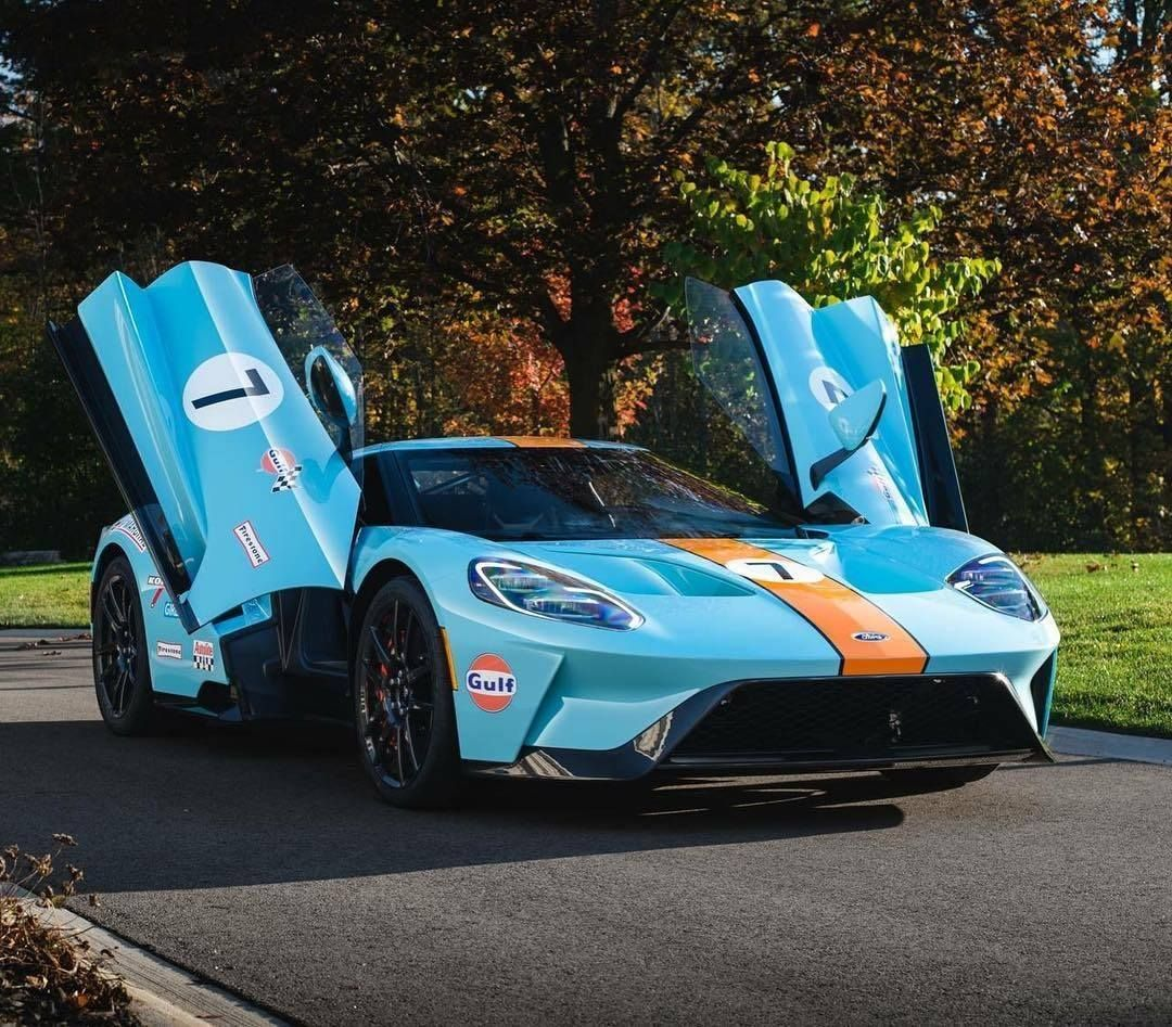 Gulf Oil Livery 2017 Ford Gt 1080 947 Ford Gt Super Cars