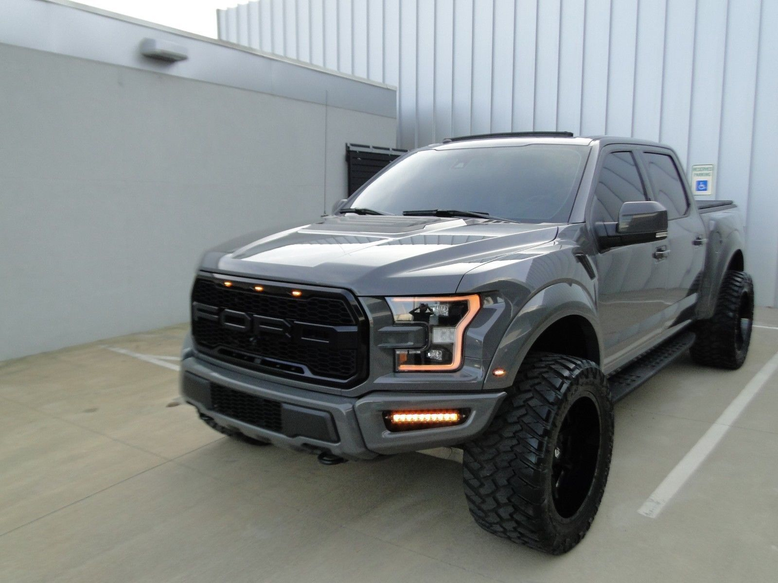 Loaded 2018 Ford F 150 Raptor Monster Truck Monster Trucks For Sale Ford Trucks For Sale