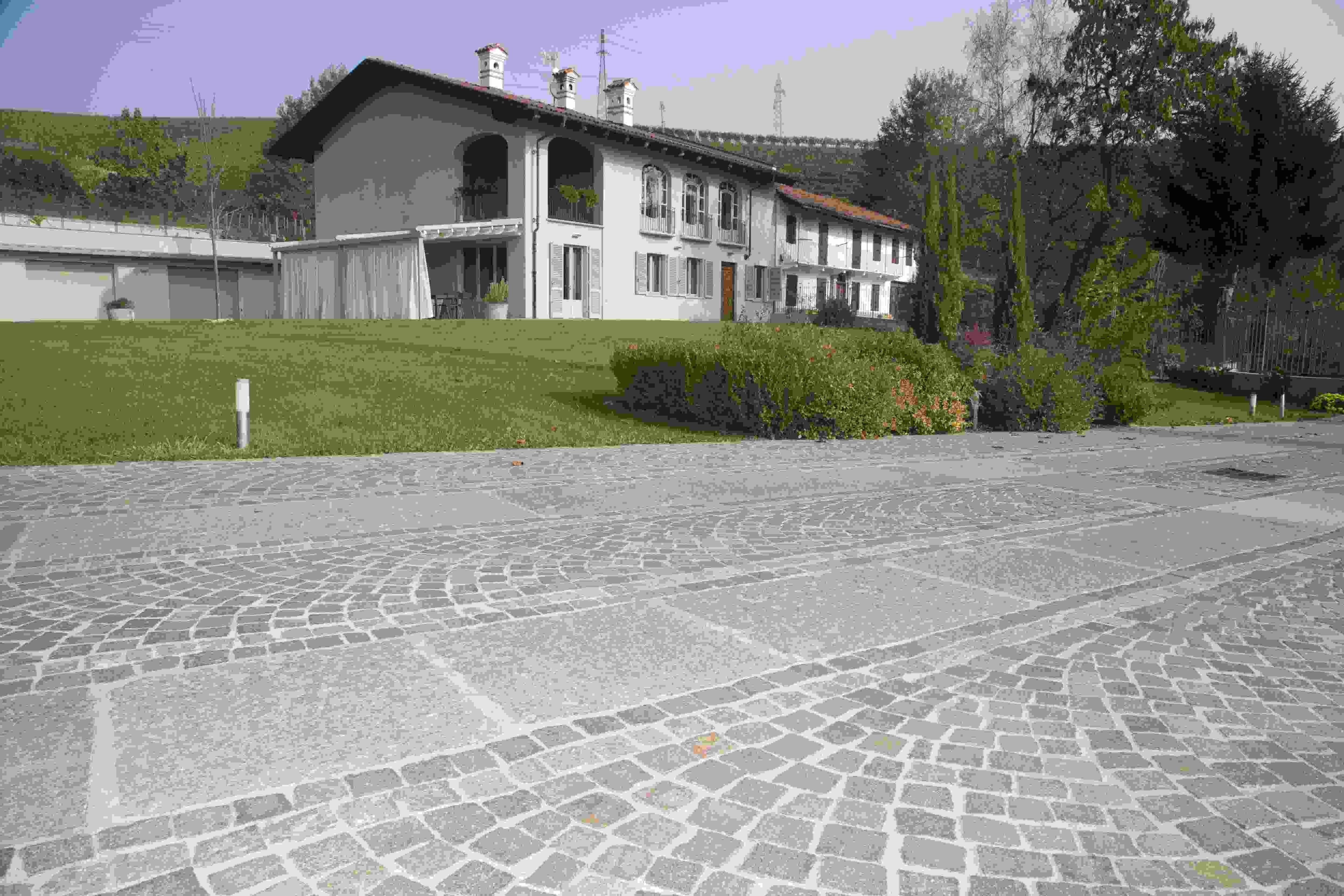Posa Pavimento A Secco Giardino pavimenti per esterno in pietra naturale, porfido e pietra