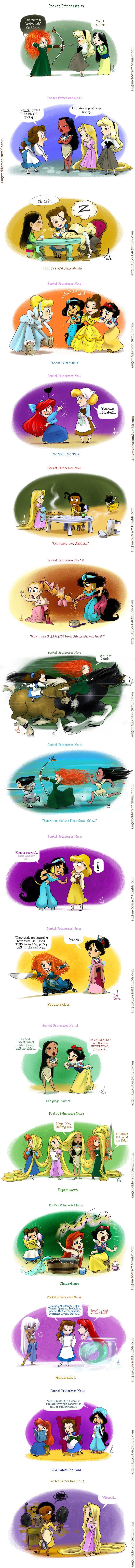 Funny Disney Pocket Princesses Comics http://geektyrant.com/news/2012/6/3/funny-disney-pocket-princesses-comics.html