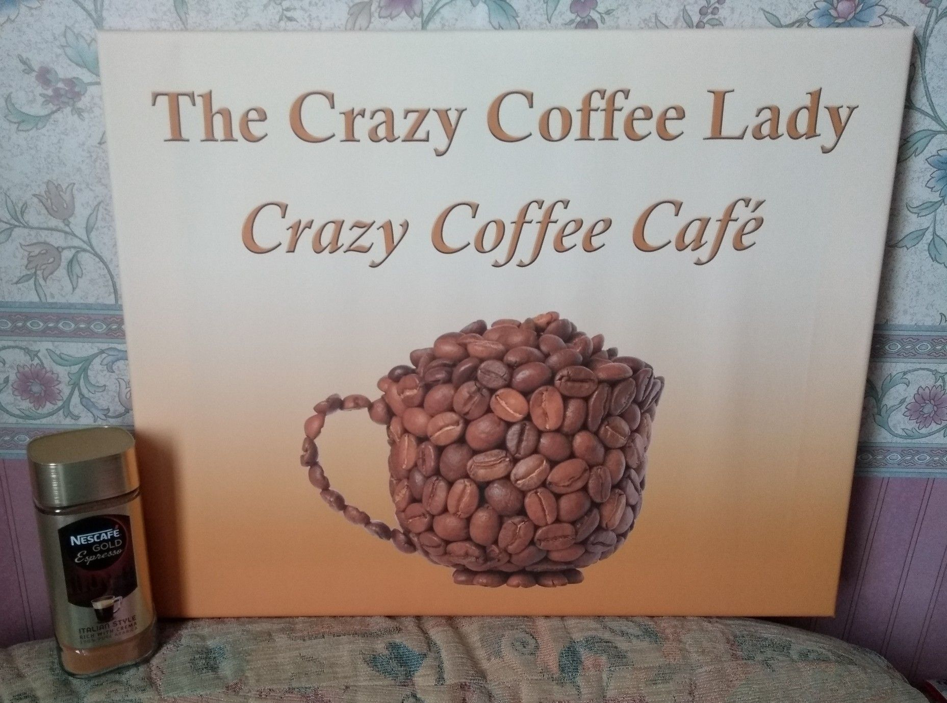 The Crazy Coffee Lady on Ebay! Nescafe gold blend, Crazy