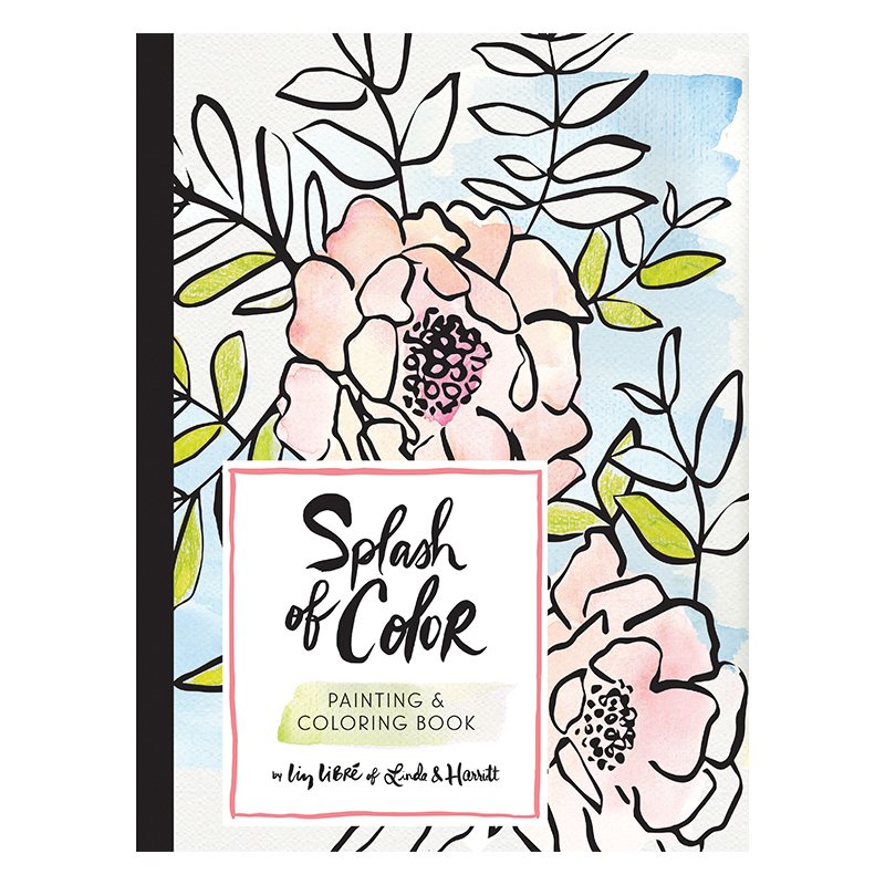 Splash Of Color Painting Coloring Book Treaty General Store Coloring Books Coloring Book Download Color Splash