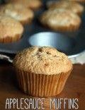 Cinnamon Applesauce Muffins Recipe