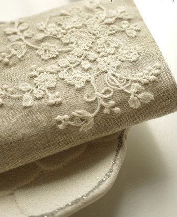 Embroidered Fabric Lace Cotton Fabric Cloth Diy Cloth Art Manual