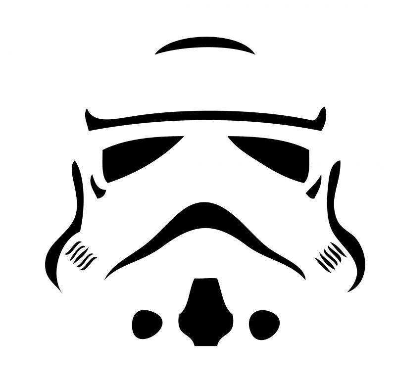 40 Kostenlose Kurbis Vorlagen Zum Ausdrucken Schnitzen Anleitung Deko Feiern Halloween Zenid In 2020 Star Wars Pumpkins Star Wars Stencil Stormtrooper Pumpkin
