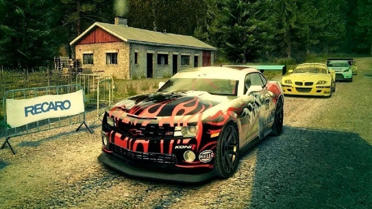 Chevrolet Camaro Ssx Concept Trailblazer Michigan Dirt 3