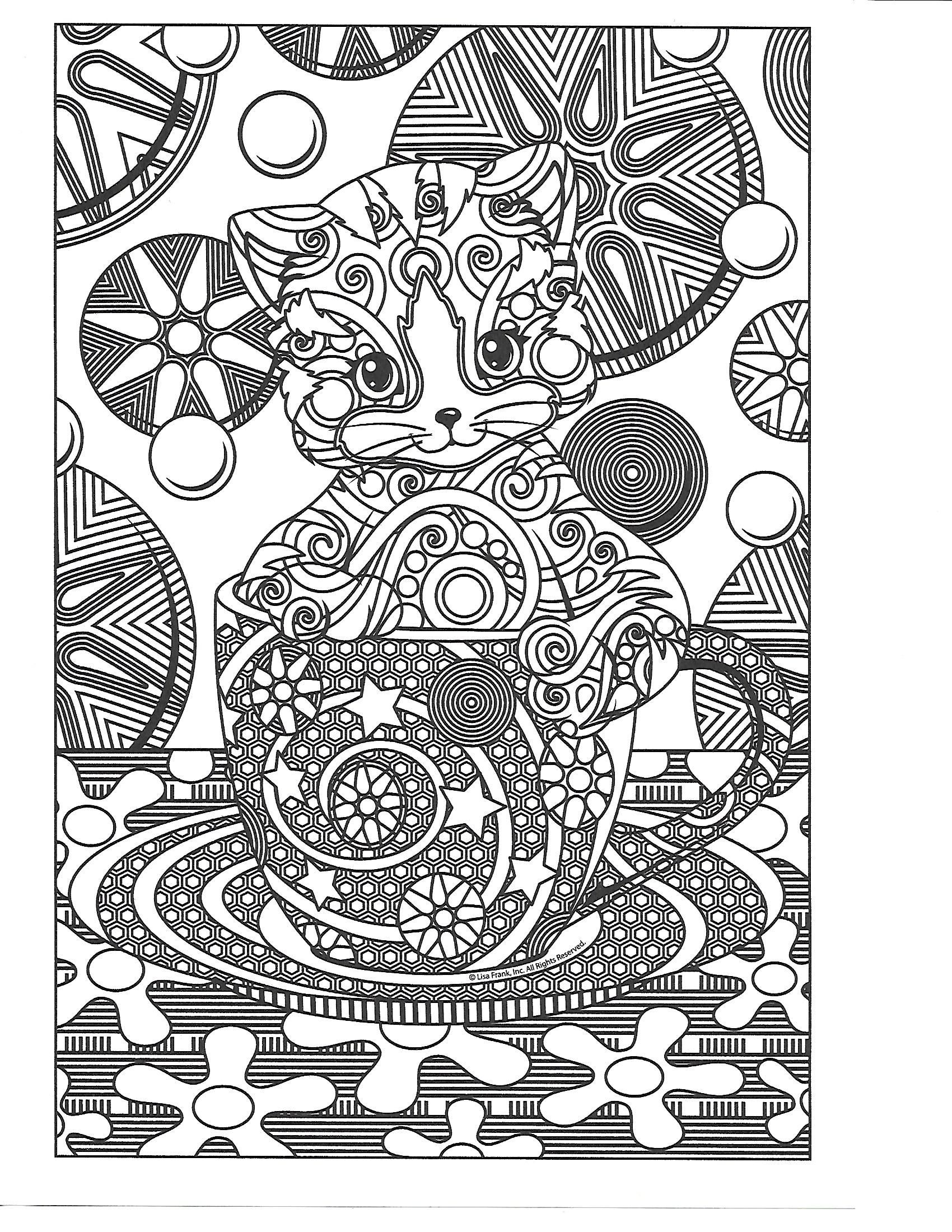 Pin By Beth Conroy On Color Cats Cat Coloring Page Colouring Pages Coloring Pages [ 2200 x 1700 Pixel ]