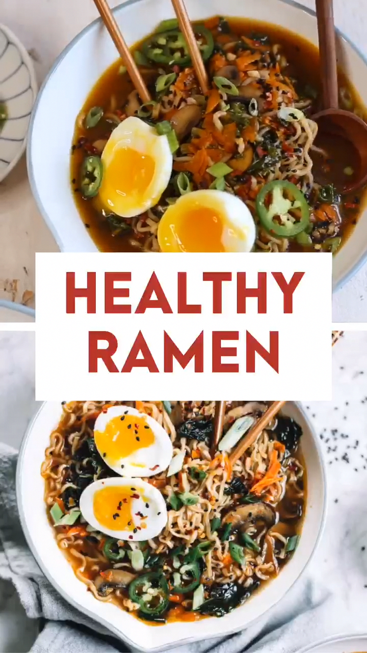 Easy Homemade Healthy Ramen