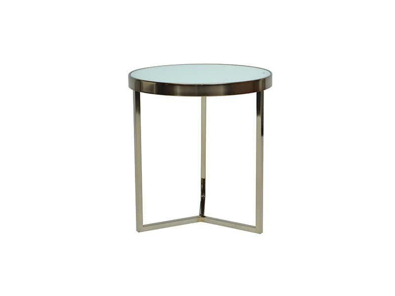 Table Basse Ronde Acier Et Verre Blanc Table Basse Table Basse Ronde Table Et Chaises De Jardin