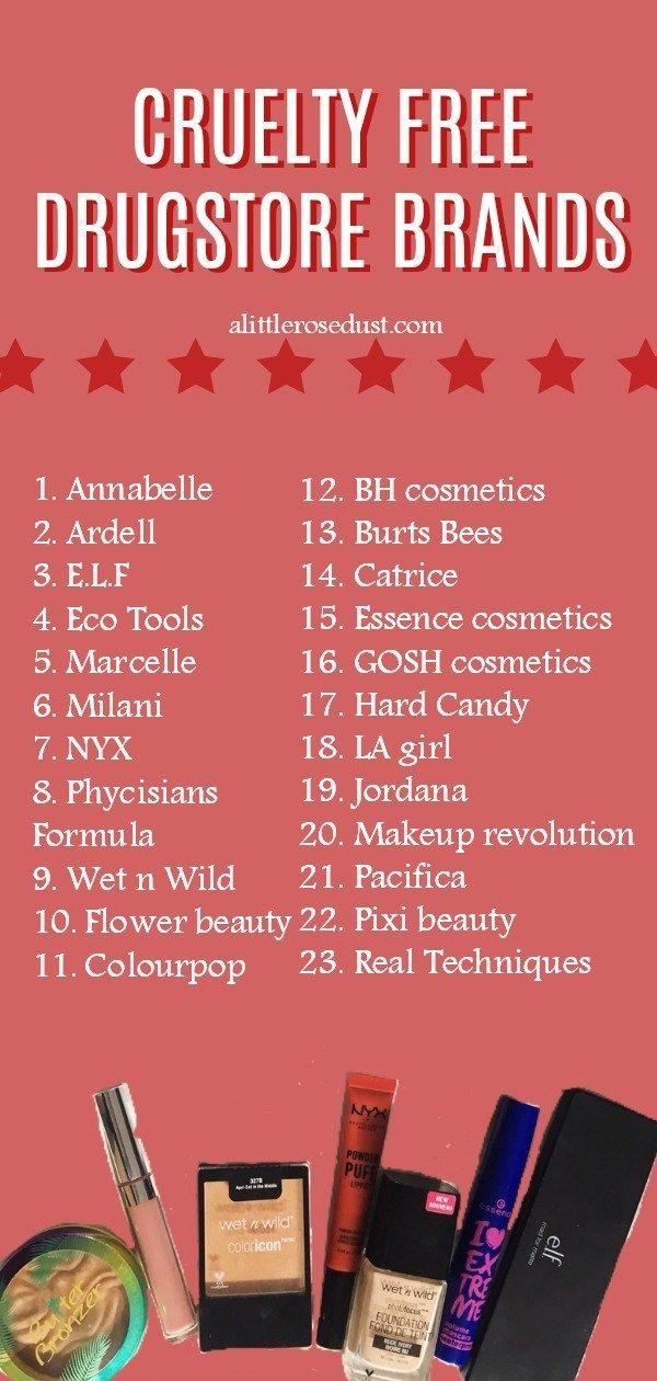 Cruelty Free Drugstore Makeup Brands Drugstore makeup
