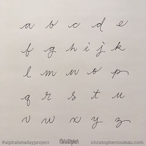 5266a288453b7b8f374374e9a0dd9d87 Cute Cursive Handwriting Typography Alphabet 480
