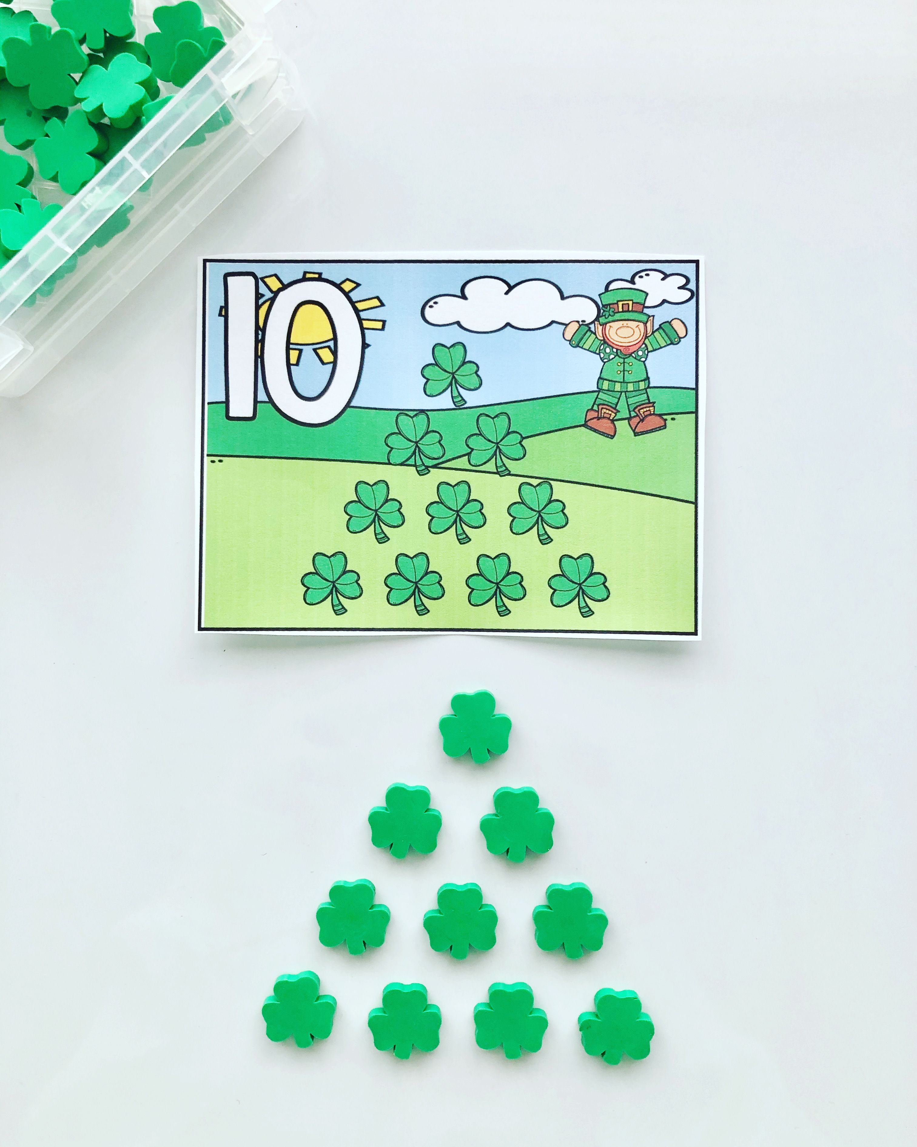 Shamrock Counting In