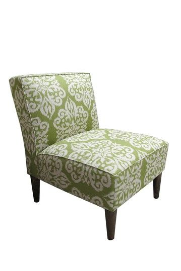 Skyline Cone Leg Chair Spicer Celery Upholstered Chairs