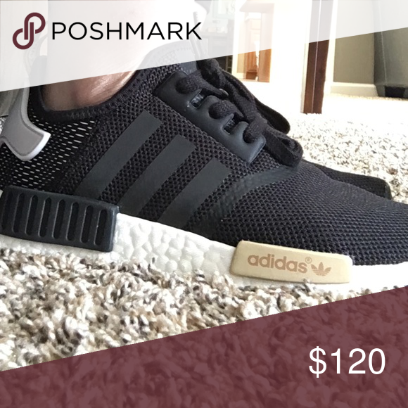 ADIDAS NMD Women's Black adidas nmd running shoes Adidas Shoes Athletic Shoes