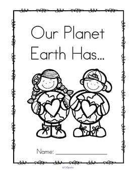 Earth Day Pack Centers and Activities for Preschool and