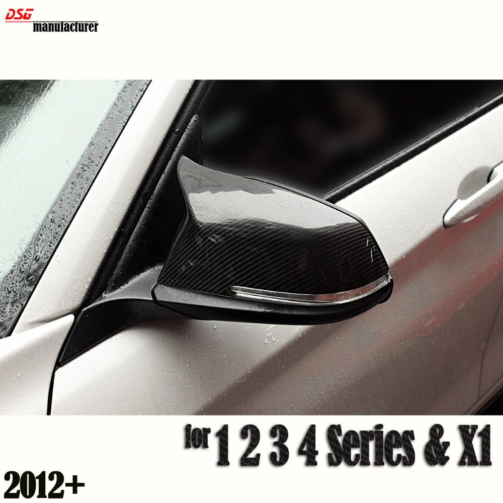 M3 Style F30 Replacement Carbon Fiber Door Side Wing Mirror Cover