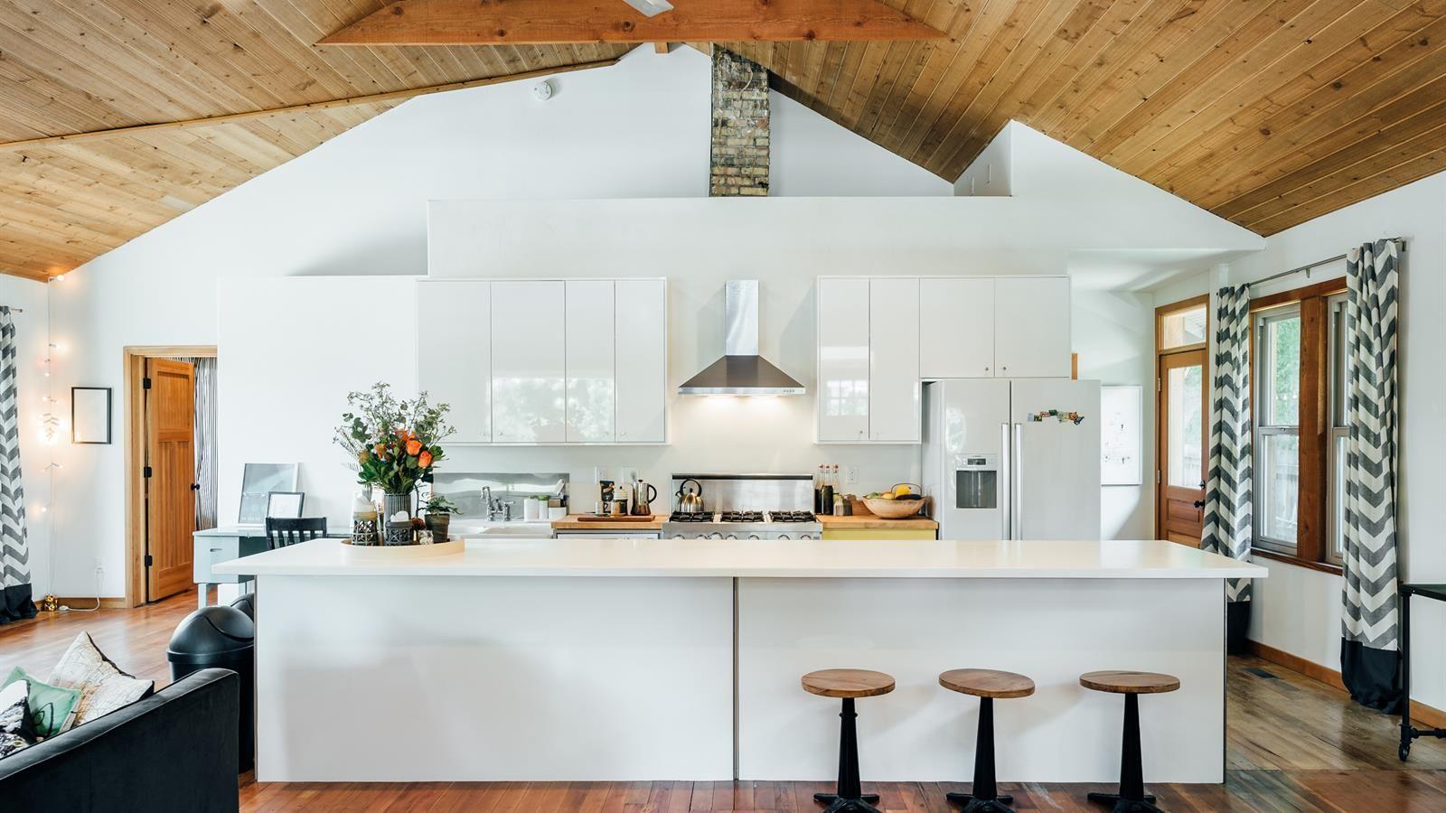 Light and bright kitchen design salt lake city