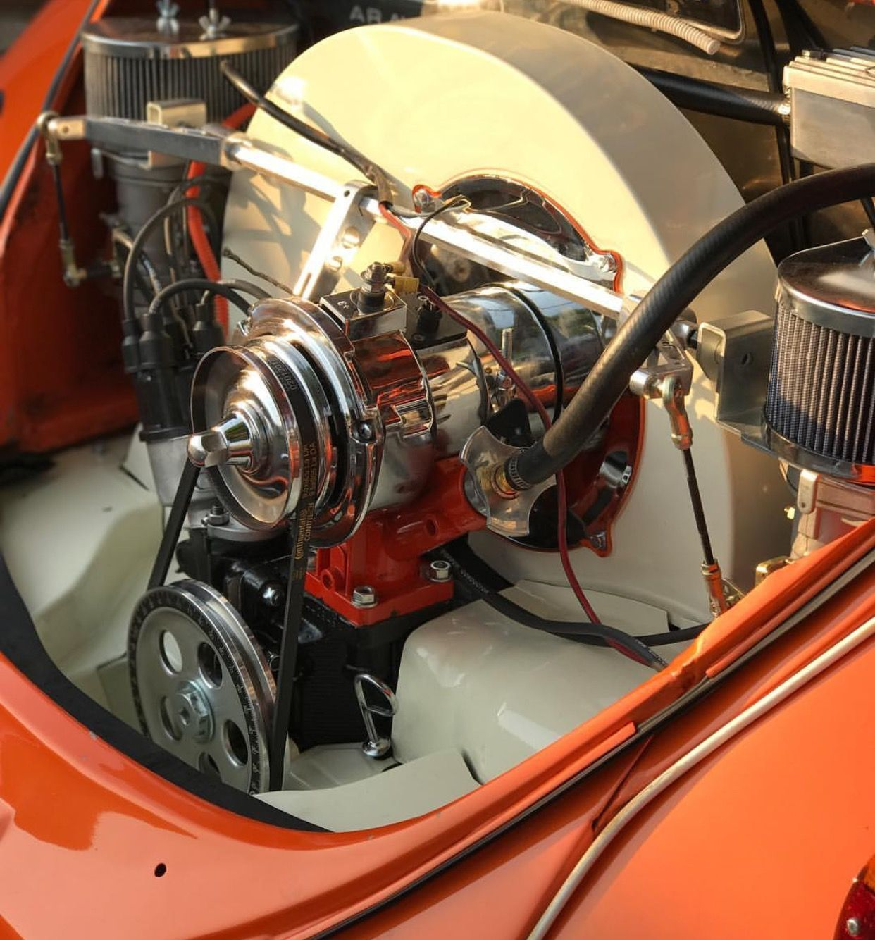 Vw Bug Engines Through The Years: VW Beetle Xtra HP Clean Engine Bay!!!!