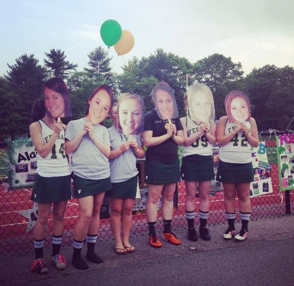 Amazing Senior Night And Homecoming Perfect For Build A Head Face Cutouts Hairstyles For Men Maxibearus