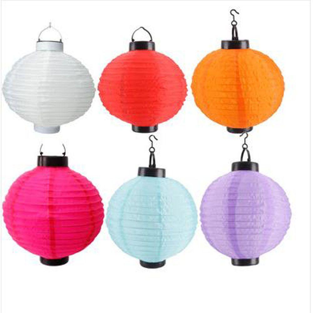 Solar Asian Lanterns