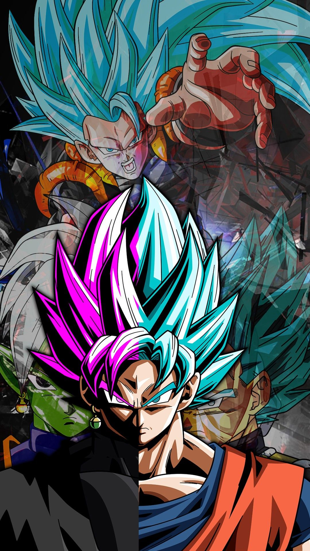 Goku Iphone Background in 2020 Dragon ball wallpaper