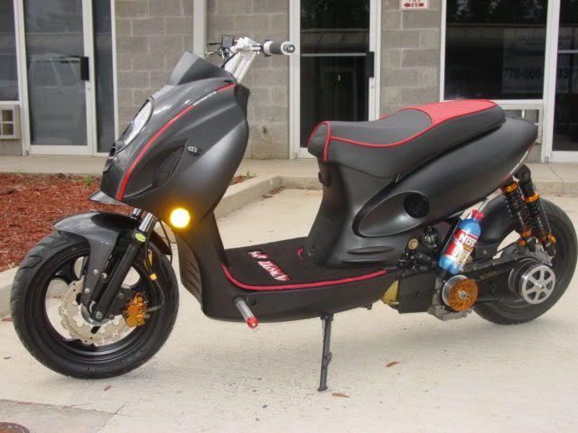 50cc Engine Swap To 150cc | | Automatic Scooter Street Custom