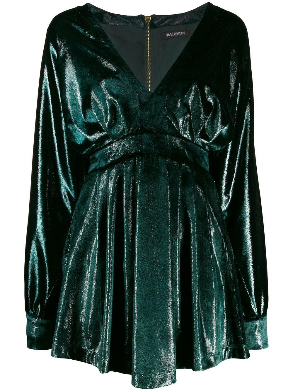 Pin By Paulina Verduzco Lopez On Slytherin In 2020 Dresses Velour Dress Flare Dress [ 1334 x 1000 Pixel ]