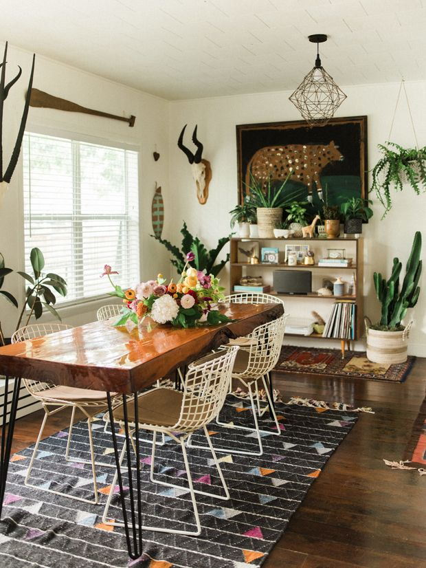 small space, big style | Dining Room | Pinterest | Small spaces ...