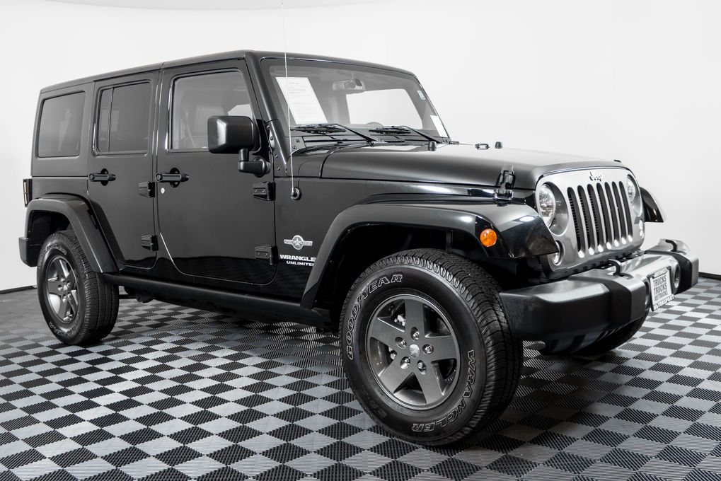 2015 Jeep Wrangler Unlimited Sport 4x4 Clean Carfax One