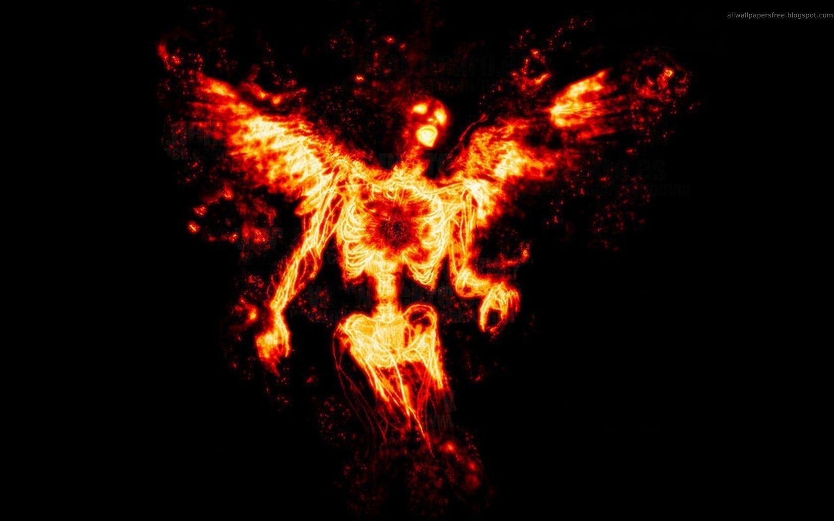 Fire Angel Wallpaper Dark Art Angel Wallpaper Dark Wallpaper