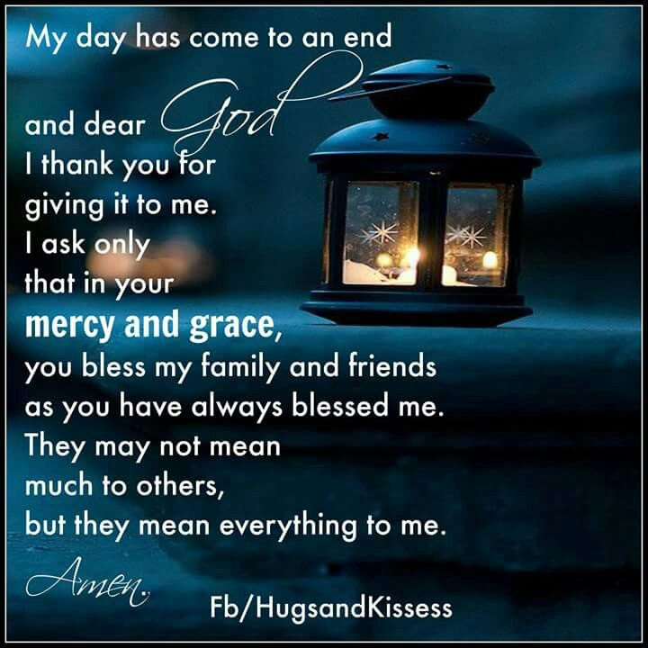 Mercy and give grace
