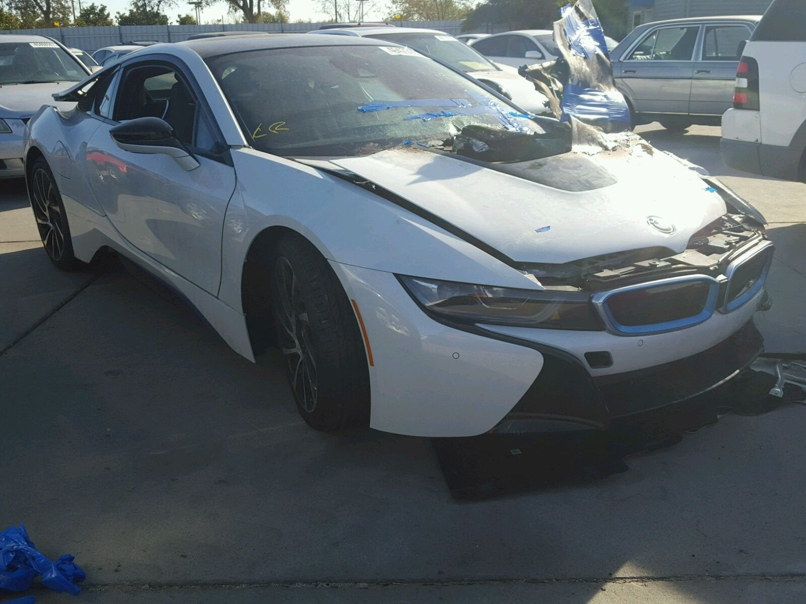 Salvage 2016 BMW I8 for Sale in New Jersey exoticcars