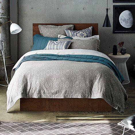 Grey Bodaway Bed Linen At Debenhams Com Industrial Style Bedroom Super King Duvet Covers Quilt Cover Sets