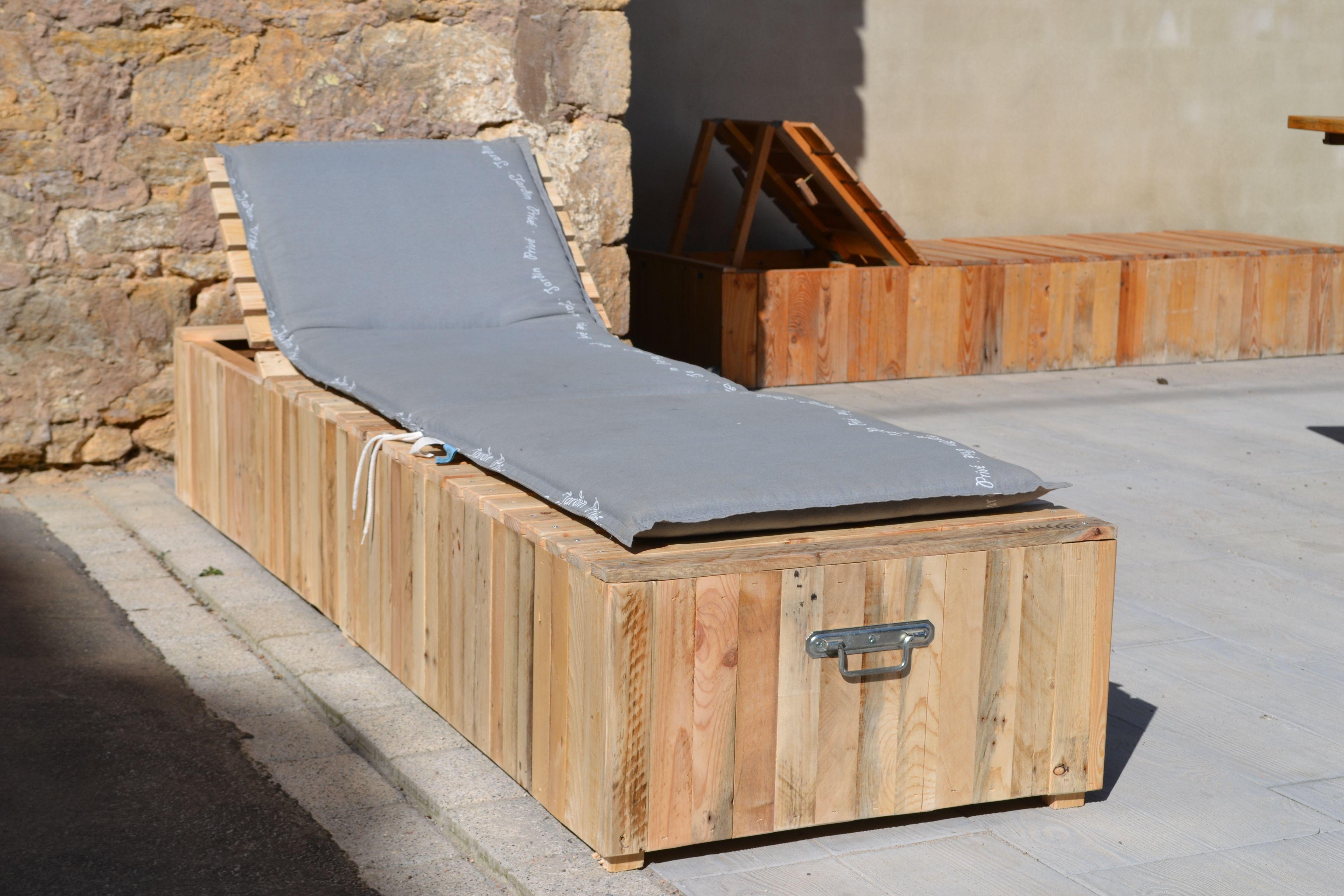 Comment fabriquer un bain de soleil en bois ?