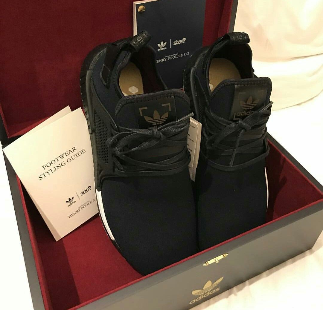 the latest fe866 35c17 Exclusive NMD XR1 with Henry Poole and Adidas. #DavidGandy ...
