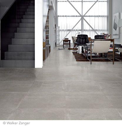 Walker Zanger Concrete Tiles Kitchen Concrete Tile Floor Concrete Floors