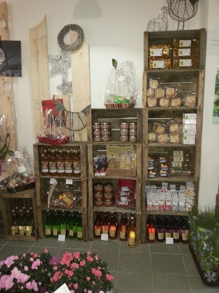 Kratten crate caisse pomme fruit bricolage diy for Magasin amenagement jardin