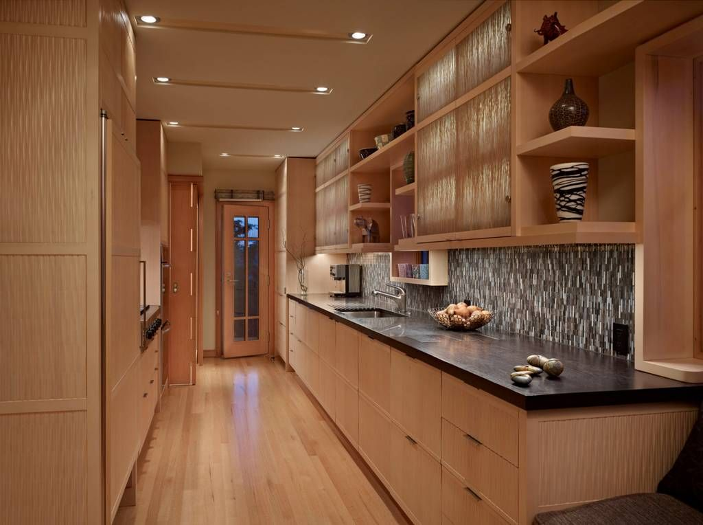 Kitchen Japanese Kitchen Style Awesome Galley Japanese Kitchen With Laminate Flooring And Cabin Kitchen Cabinets Pictures Kitchen Sink Design Kitchen Style