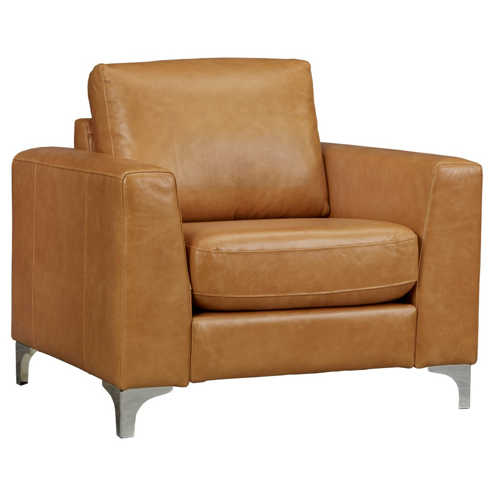 Park Art My WordPress Blog_Camel Leather Chair With Ottoman