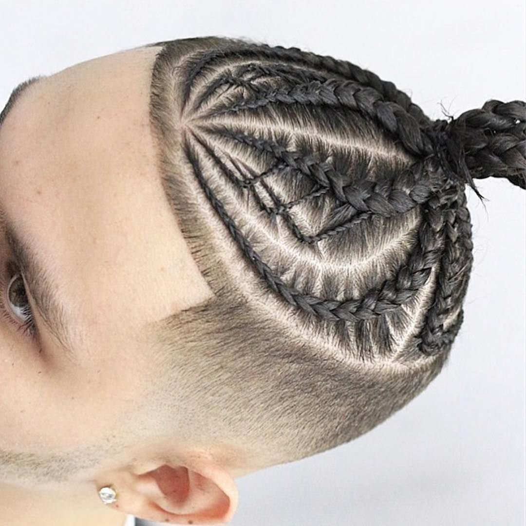 Braids and buns can help to keep your hair looking fashionable while