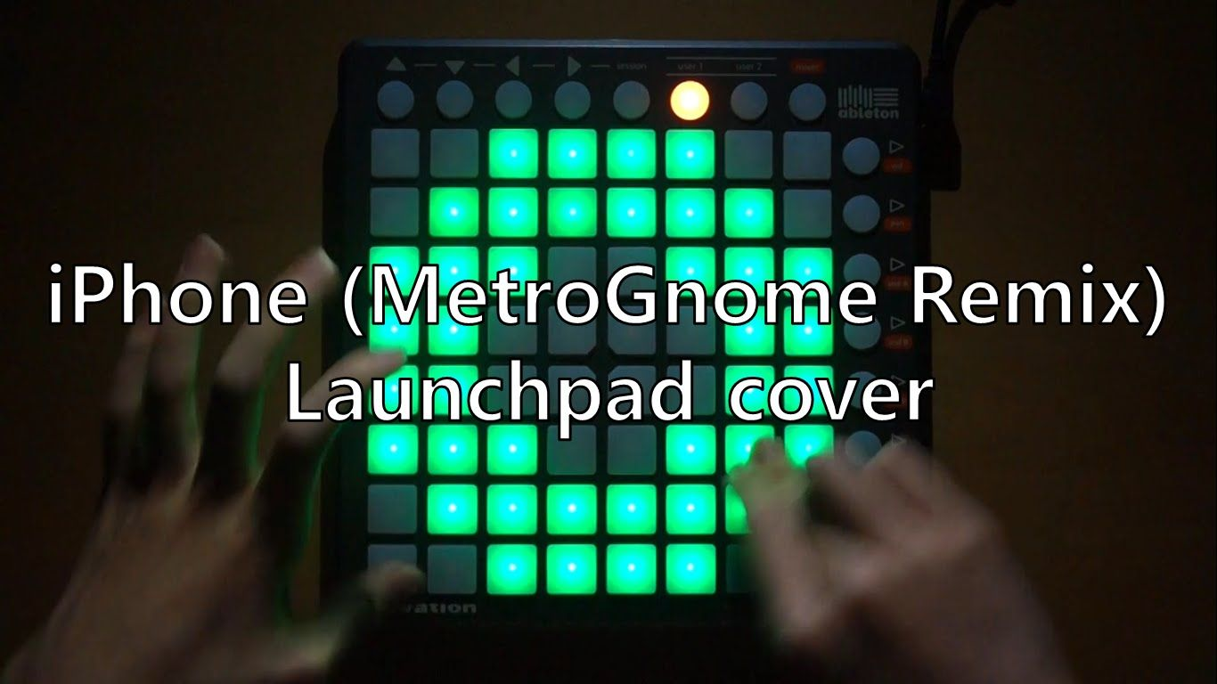 Iphone Metrognome Remix Launchpad Cover Project File