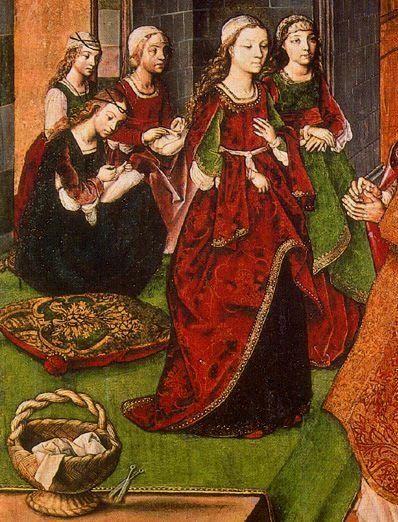 about 1480 Pedro Berrugete Paredes de Nava, (detail