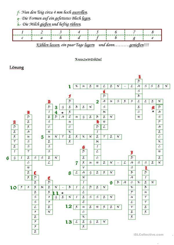 Tägliches Kreuzworträtsel