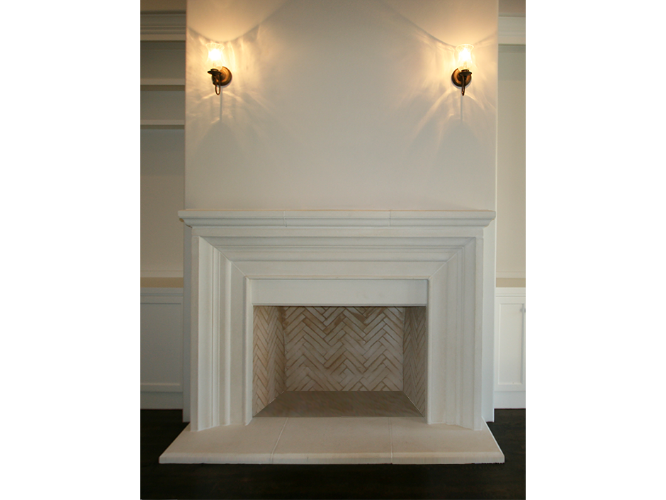 de vinci cast stone fireplace surround                                                                                                 … | Pinteres…