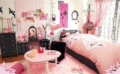 Bedroom Cute Fashion Girl Beautiful Bedrooms Japanese