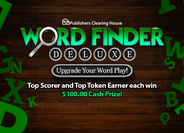 Token Games in 2020 Publishers clearing house
