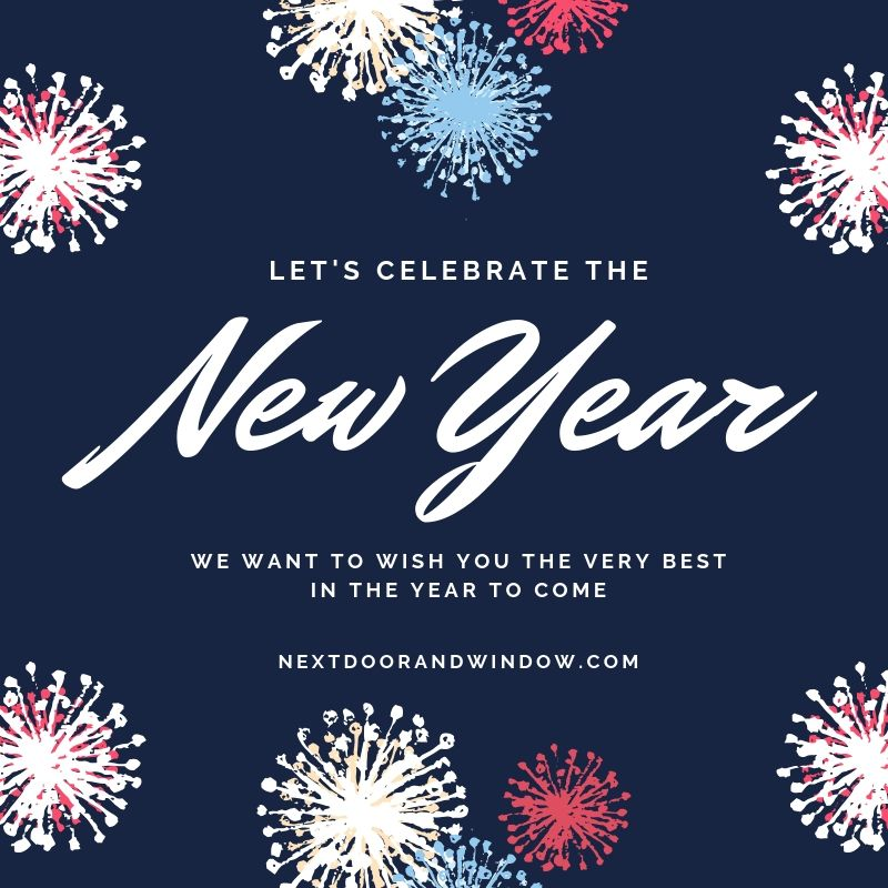 Happy New Year! We wish everyone a blessed New Year full