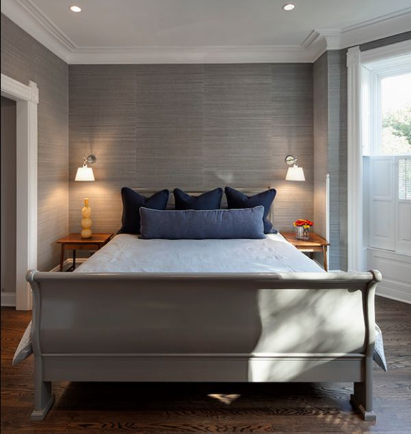 Interior Design Ideas Grey Bedroom Bedroom Apartment Decorating Ideas Interior Design Bedroom Layout Bedroom Ceiling Design Types: 50 Sleigh Bed Inspirations For A Cozy Modern Bedroom